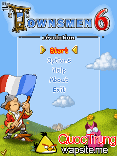 game-java Townsmen 6 Revolution s60v3 multiscreen