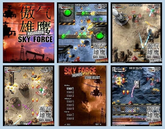 preview Skyforce reloaded 1.0 s60v3 240x320
