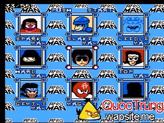 roms-nes Afro Man Mega Man 3 Hack 2