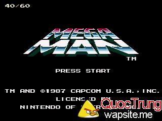 roms-nes High Speed Megaman Mega Man Hack